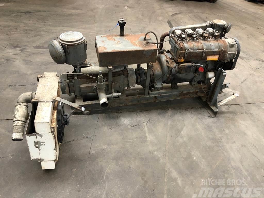 Lombardini 5 LD 825-4 engine + Silo / Bulk Compressor