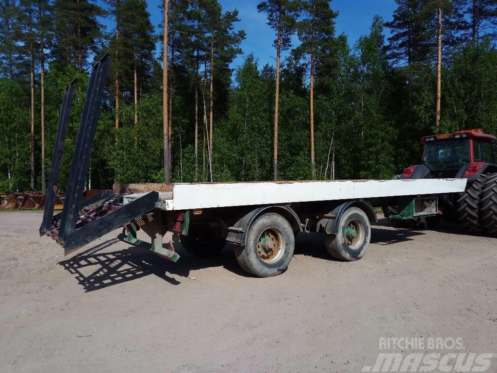 [Other] Perävaunu Jarrullinen lavetti 2-akselinen traktori