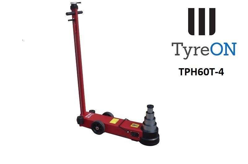 TyreOn TPH60T-4 air-hydraulic jack 60T - Four-stage
