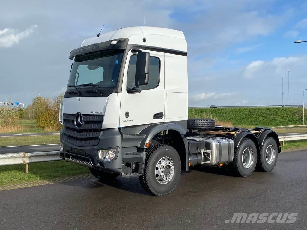 Mercedes-Benz Actros 3348 6x4 tractor head