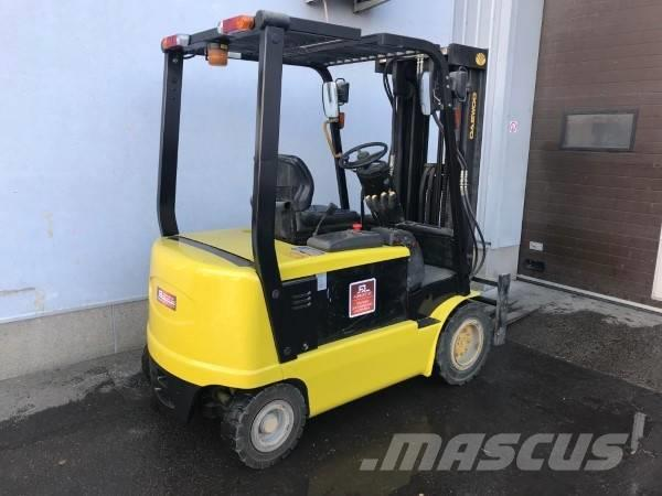 Daewoo ELECTRIC COUNTERBALANCE FORKLIFT B25X