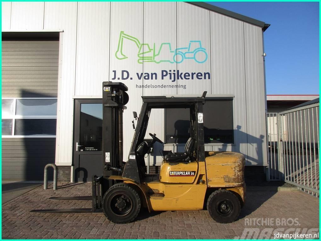 Caterpillar DP35K 3.5t diesel + sideshift!
