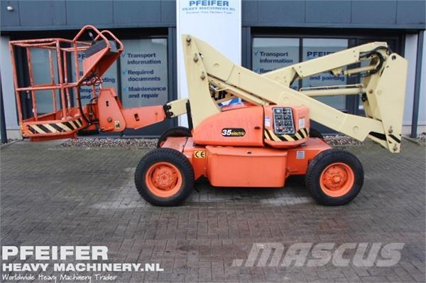 JLG 35E Electric, 12m Working Height.