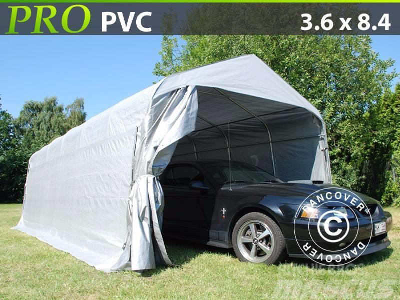 Dancover Portable Garage 3,6x8,4x2,7m PVC Lagertelt