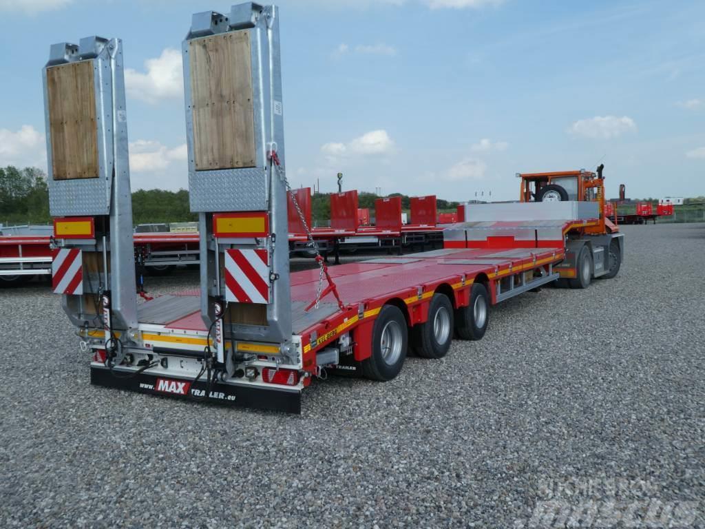 MAX Trailer S300M - Kombi trailer m hydraulisk gulv 6m uttrekk