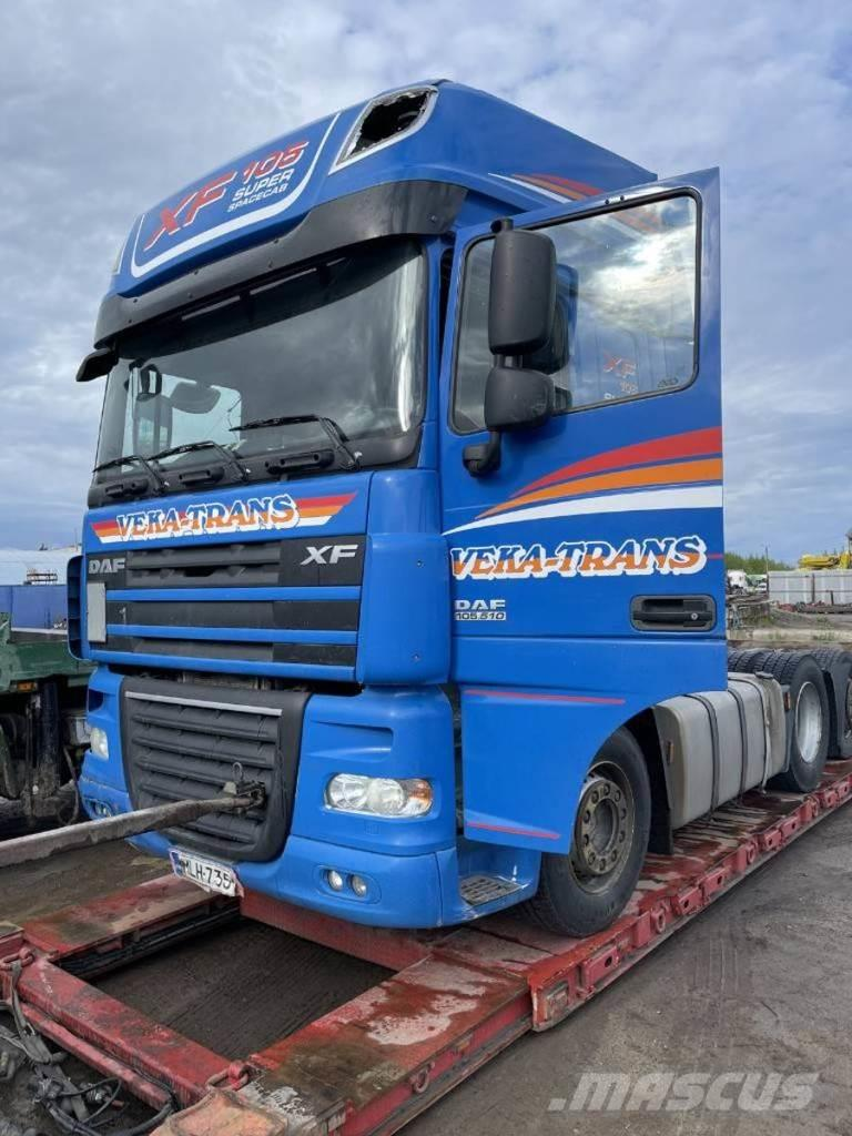 DAF XF105.510 6X2 EURO 5 FOR PARTS
