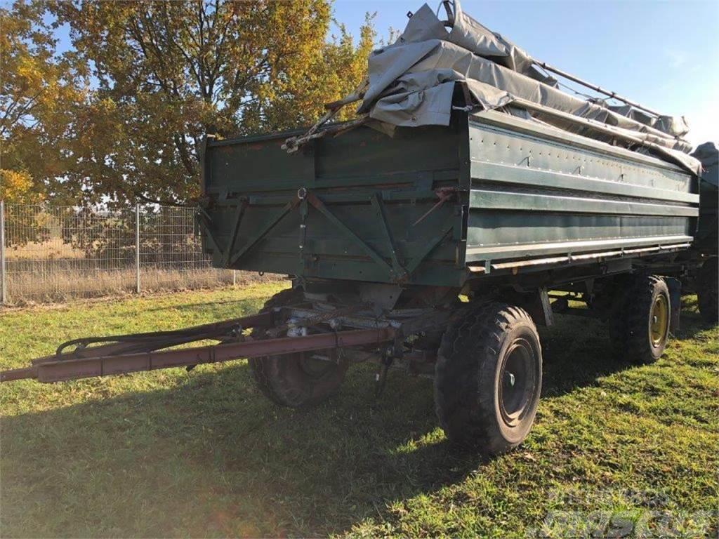 Fortschritt HW80 Getreideaufbau