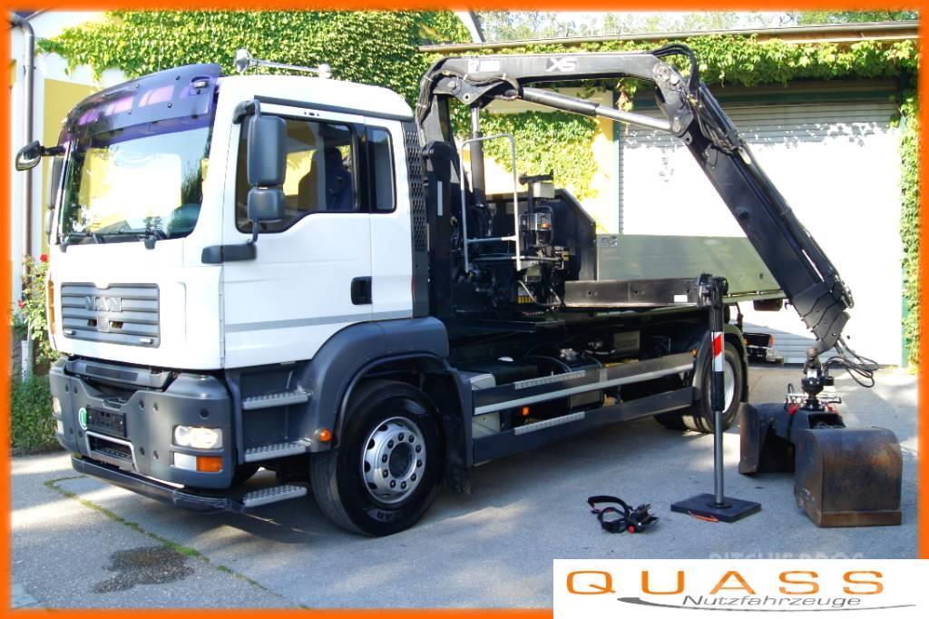 MAN TGA 18.360 BL /TÜV / Container+HIAB 099/ MULTILIFT