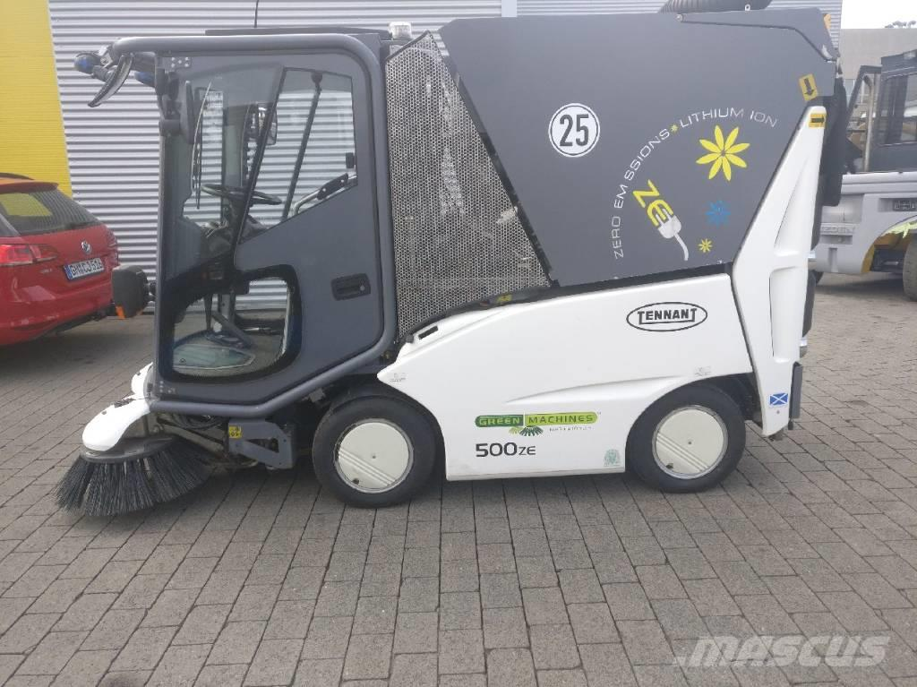 Green Machines Kehrmaschine 500 ZE