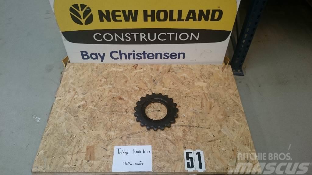 Hanix H15A Trækhjul