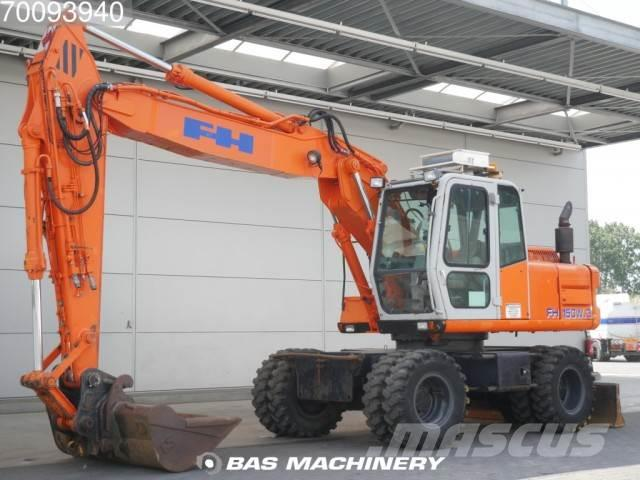 Fiat Hitachi FH150-3 4X4 including bucket