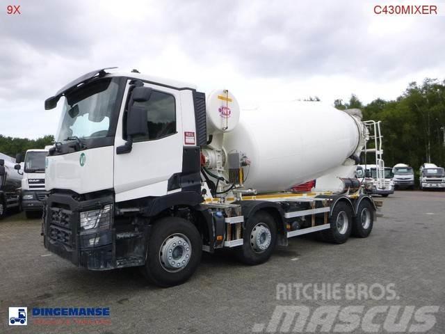 Renault C 430 8x4 Euro 6 NT concrete mixer