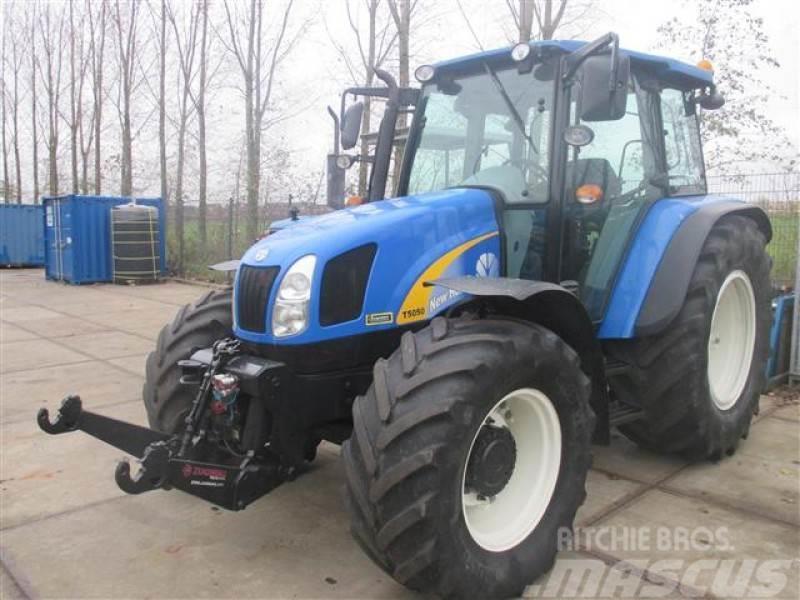 New Holland -t5050 traktor Tahun pembuatan: 2009 - Mascus Indonesia