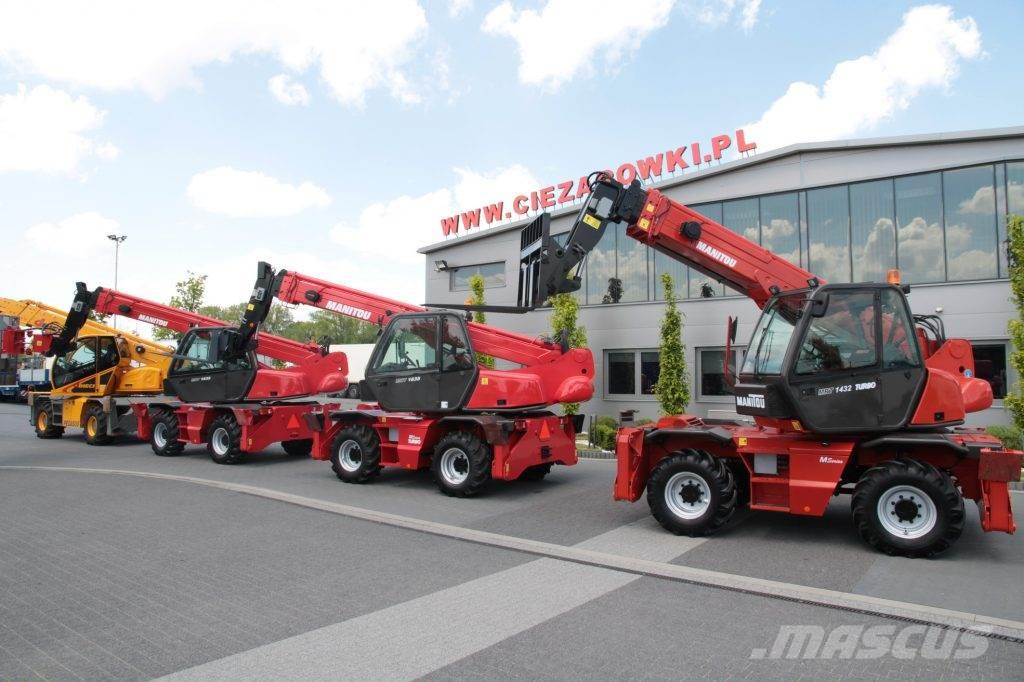 Manitou ROTARY TELESCOPIC LOADERS