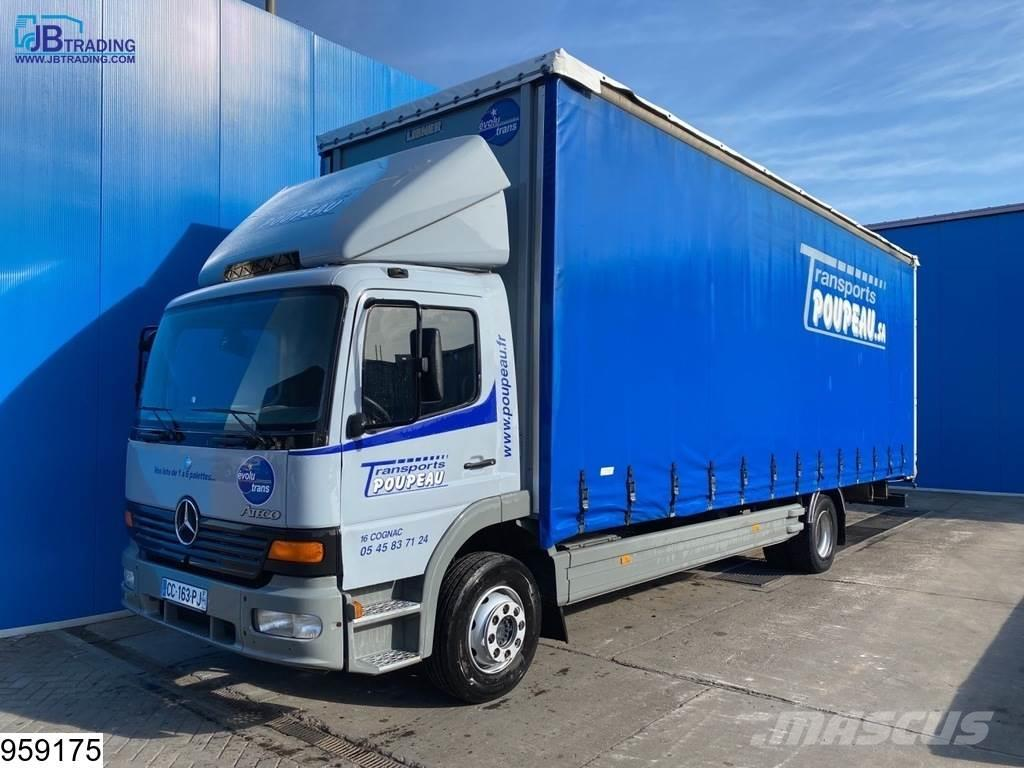 Mercedes-Benz Atego 1318 Steel suspension, Manual