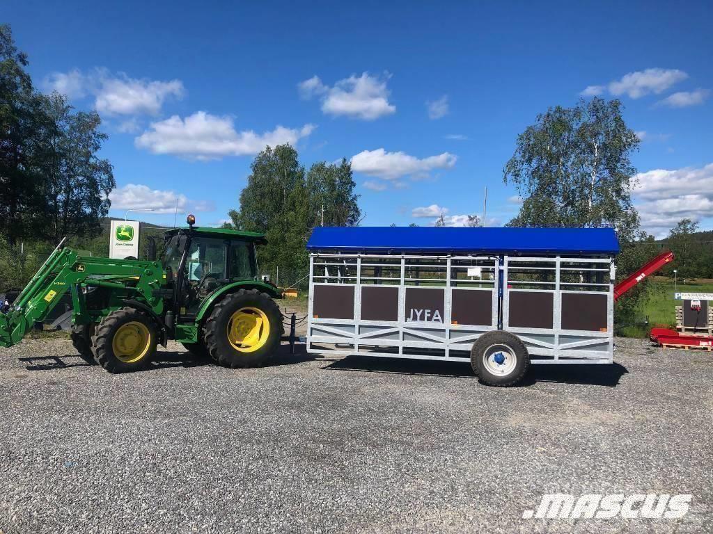 Jyfa Djurtransportvagn 5 M Hydraulvagn NY Kampanj