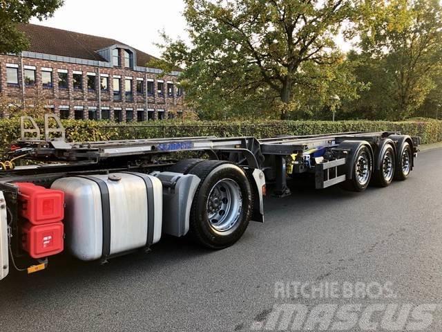 Schmitz Cargobull GOTHA SCF 24 G-45 Slider 2x20 1x30/40/45 Fuß