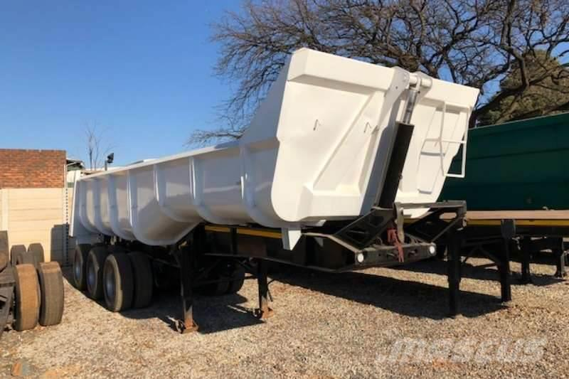 [Other] Top Trailer Tri Axle 30m³ End Tipper