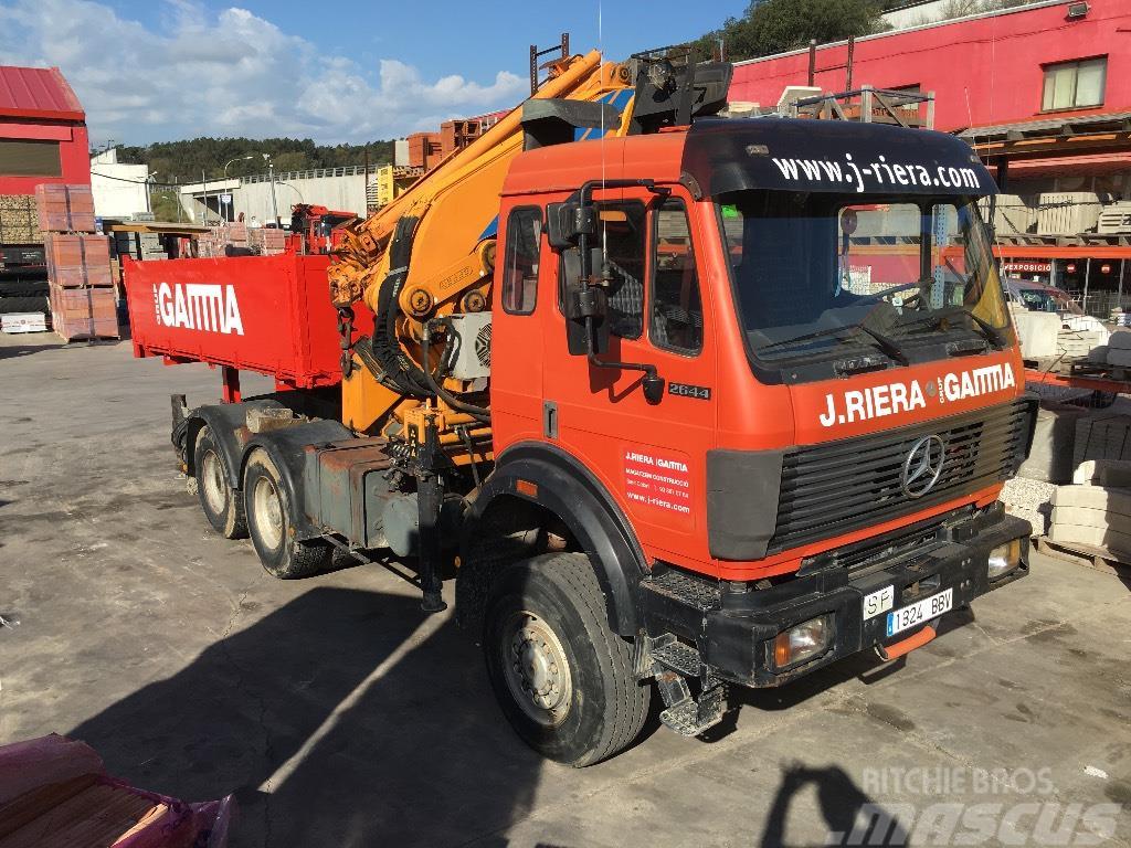 [Other] Tractora Mercedes-Benz 2644 k 6x6 sin grua (no cra