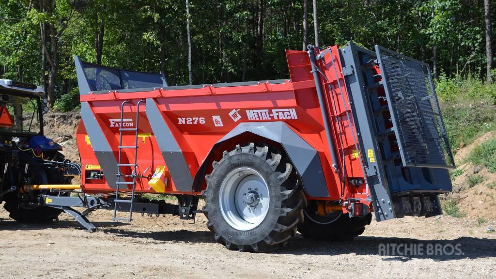 Metal-Fach FALCON - 1 axle / monocoque manure spreader 8T