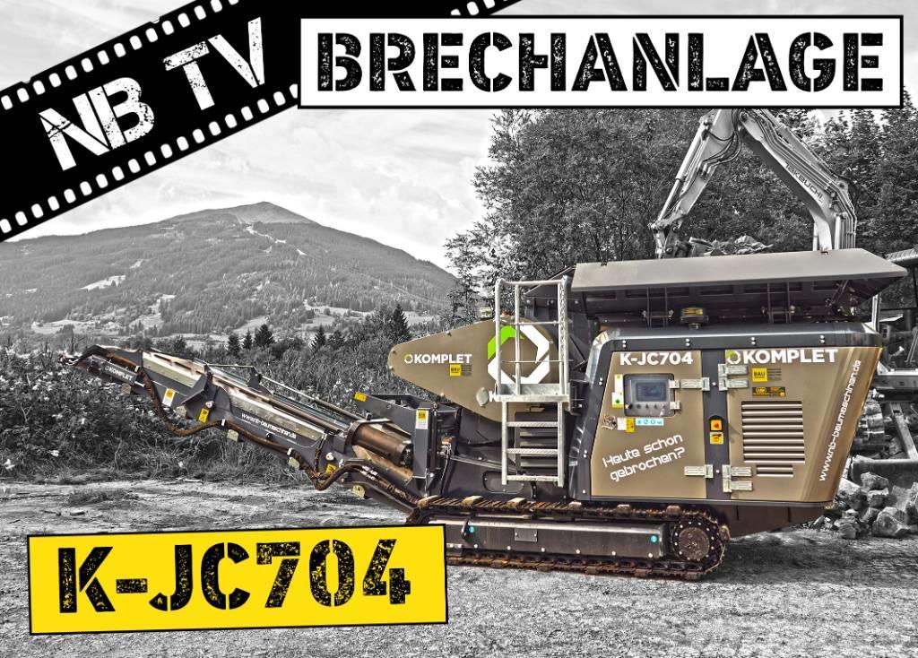 Komplet K-JC704 | Mobiler Backenbrecher | Brechanlage