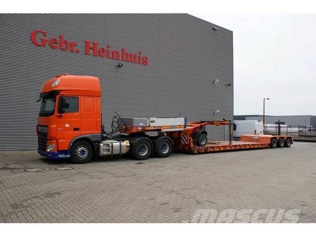 DAF XF 510 6x4 Euro 6 Super Space Cab + Goldhofer STZ-