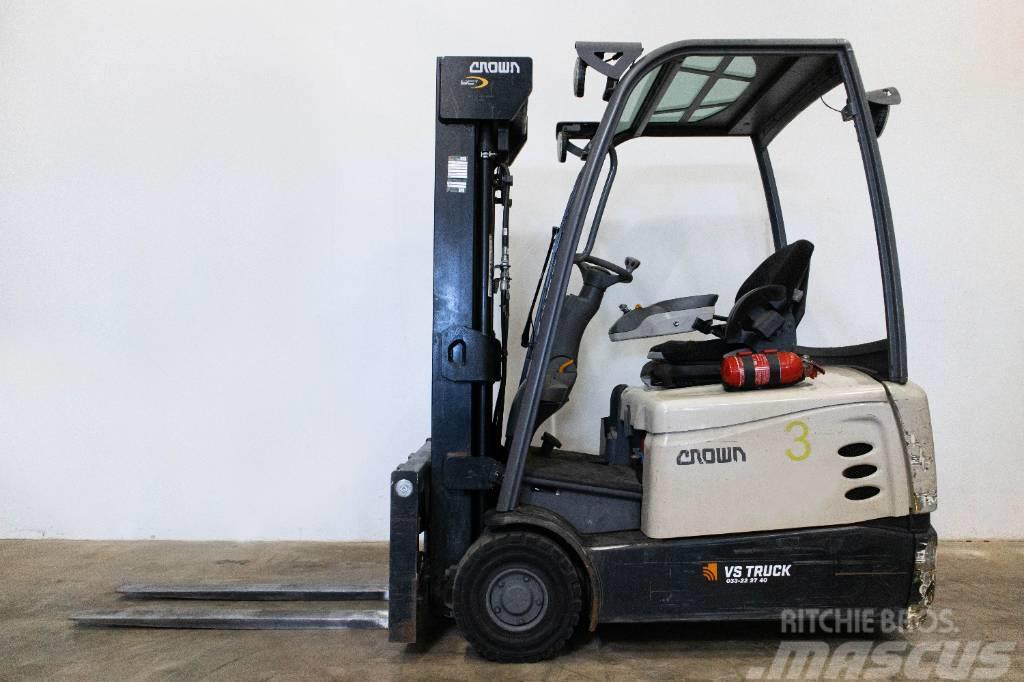 Crown 1,6-tons elmotviktstruck, SCT6020 1,6