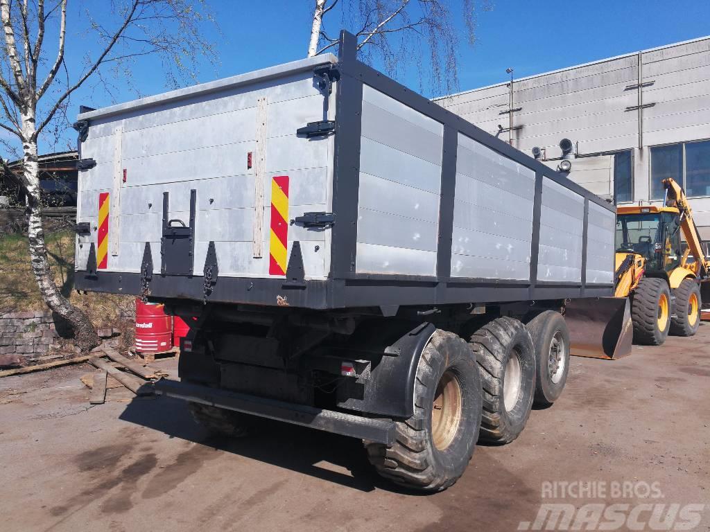 Scania Iso viljäkärry 3-aks