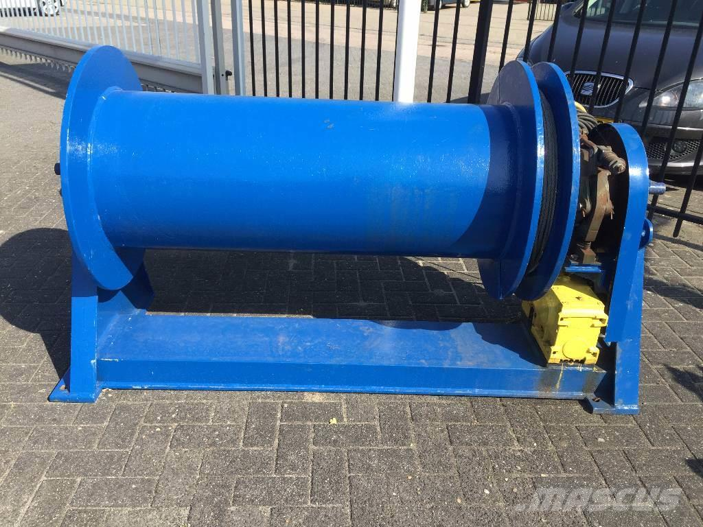 [Other] Electric winch (brand unknown) large drum winch