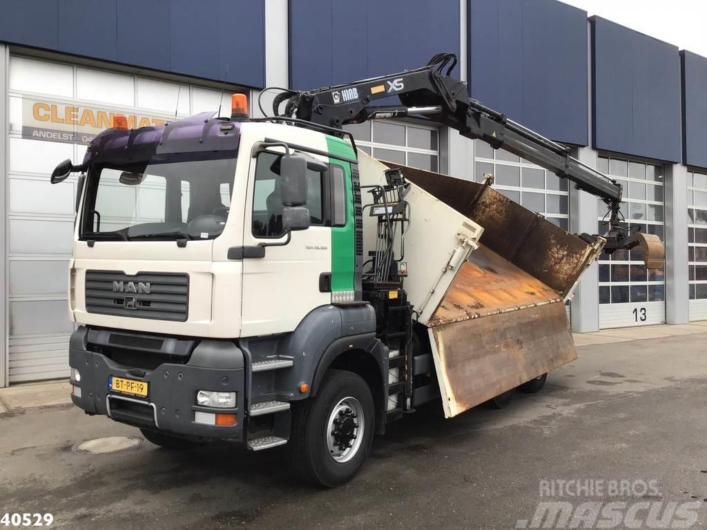 MAN TGA 28.360 6x4 Hiab 14 ton/meter laadkraan