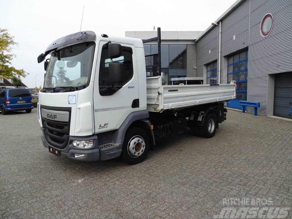 DAF LF220 / TIPPER / STEEL-STEEL / MANUAL / EURO-6 / 2