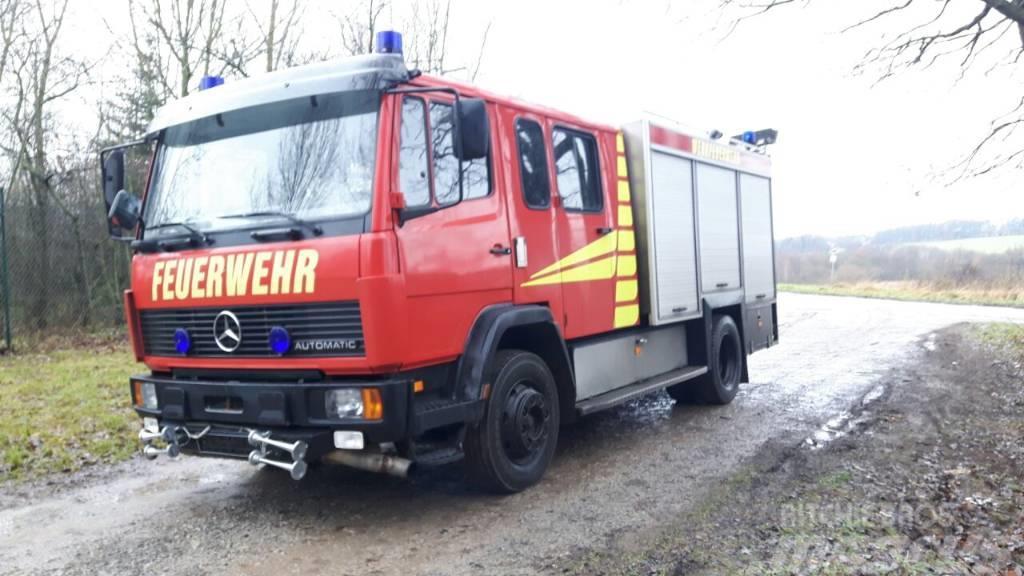 Mercedes-Benz 1124 Löschfahrzeug Autobomba Firetruck