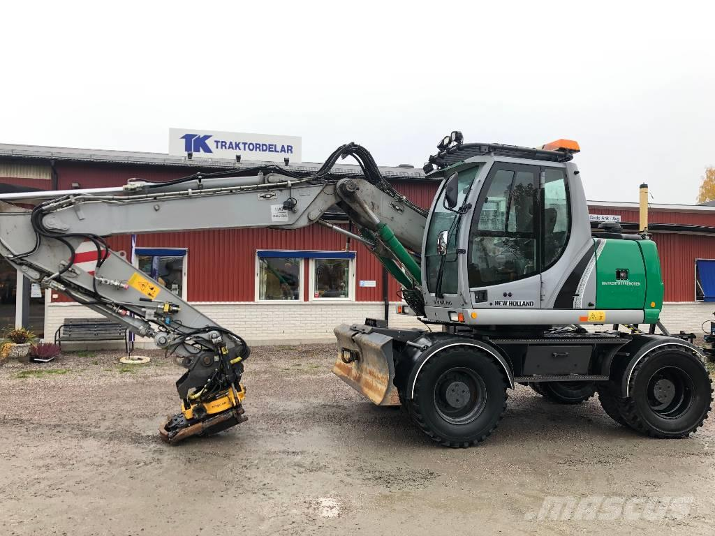 New Holland WE 150C Dismantled: only spare parts