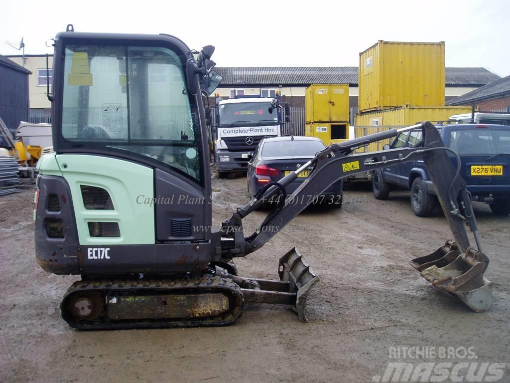 Used Volvo Ec 17 C Mini Excavators