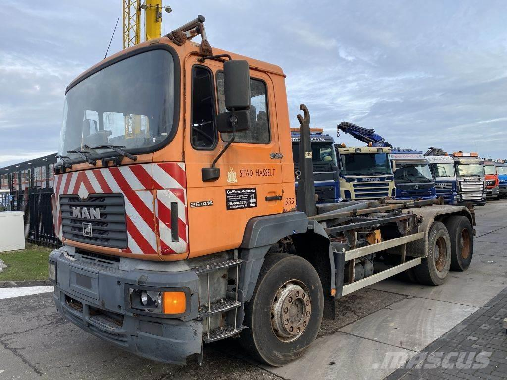 MAN 26.414 6X4 MANUAL - FULL STEEL - HUB REDUCTION