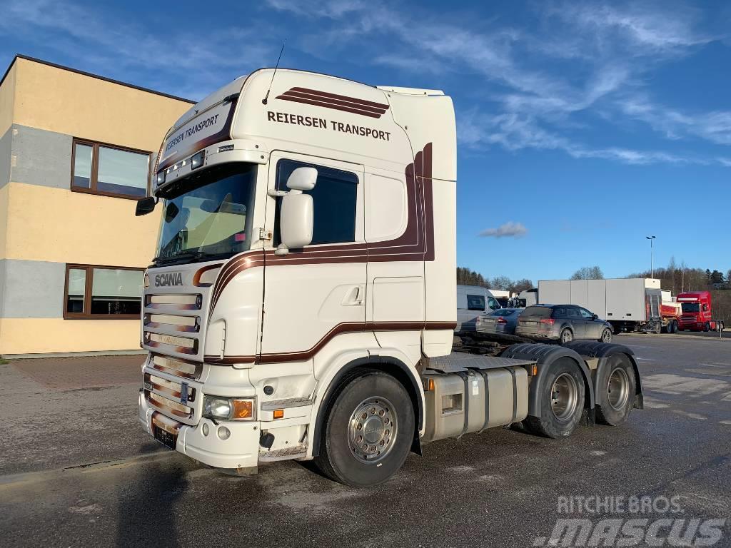 Scania R620 6x4+HYDRAULIC+RETARDER