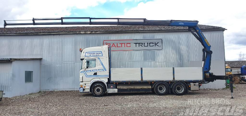 Scania R 480 LB + PALFINGER CRANE