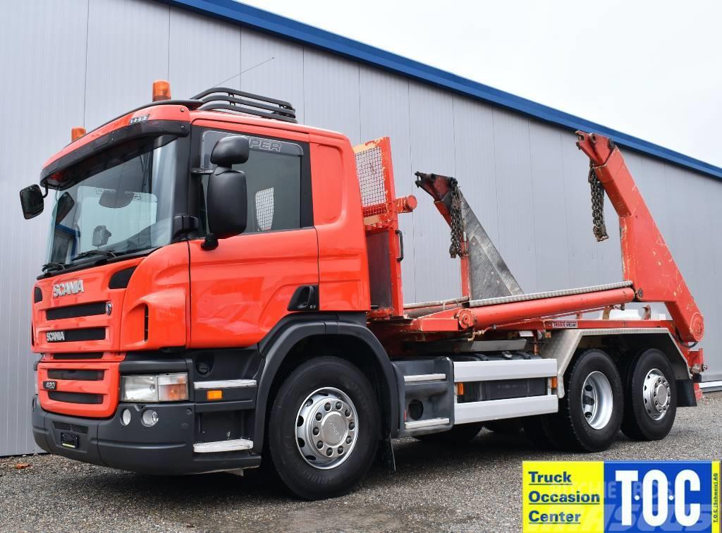 Scania P420 6x2 Euro5 Retarder