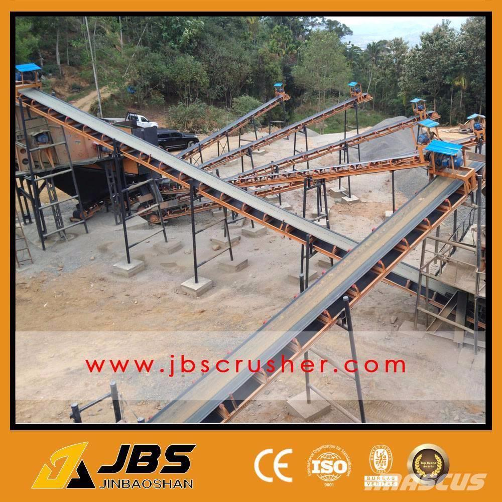 JBS Used 100TPH GRANITE STONE CRUSHING LINE