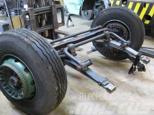 Terberg Front axle