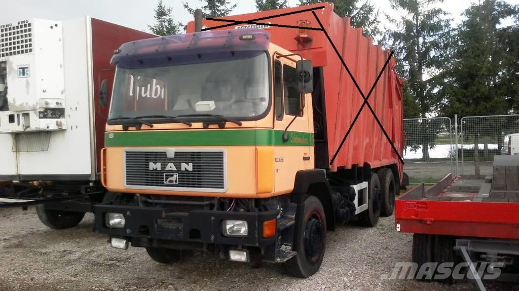 MAN 26.272 only Chassis / nur Fahgestell