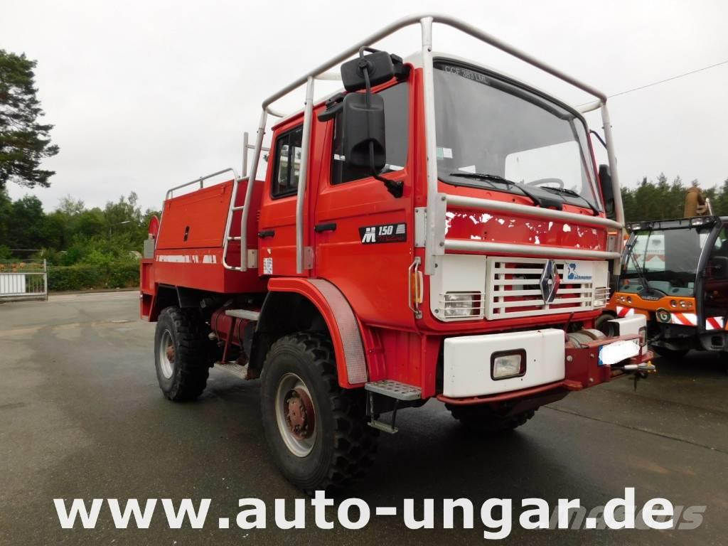 renault m150 midliner 4x4 feuerwehr tlf 2000 off road wald. Black Bedroom Furniture Sets. Home Design Ideas