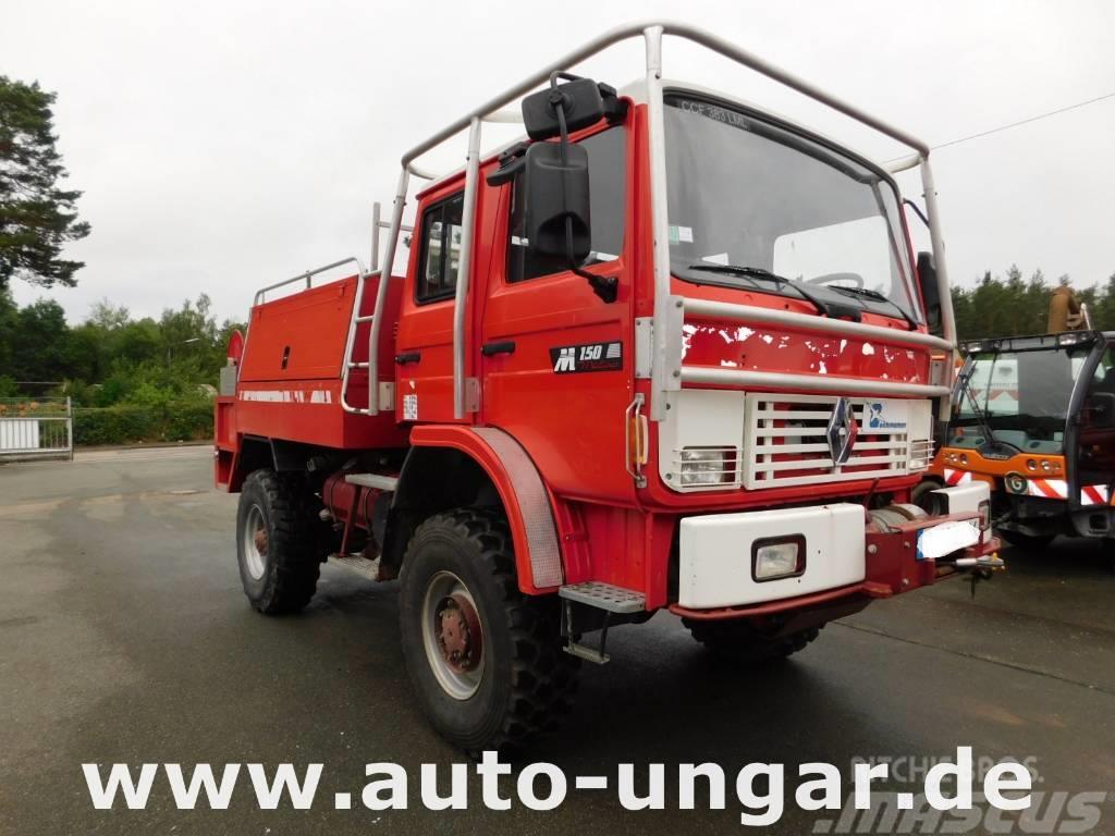 Renault M150 Midliner 4x4 Feuerwehr TLF 2000 Off-Road Wald