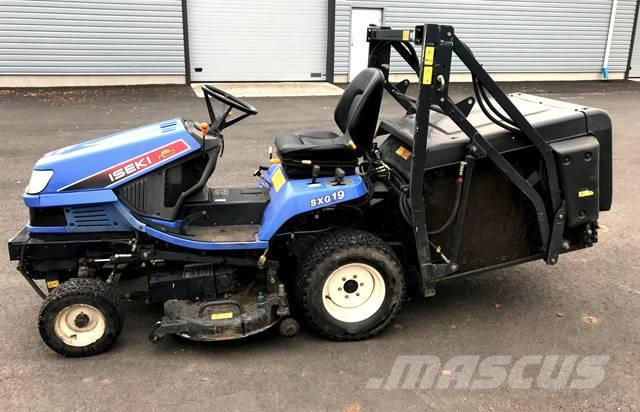 used iseki sxg 19 h riding mowers year 2007 price us. Black Bedroom Furniture Sets. Home Design Ideas