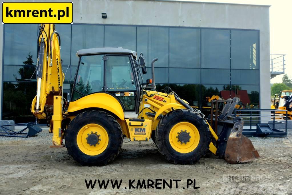 New Holland B 115 B JCB 3CX 4CX CASE 695 CAT 434 KOMATSU 93