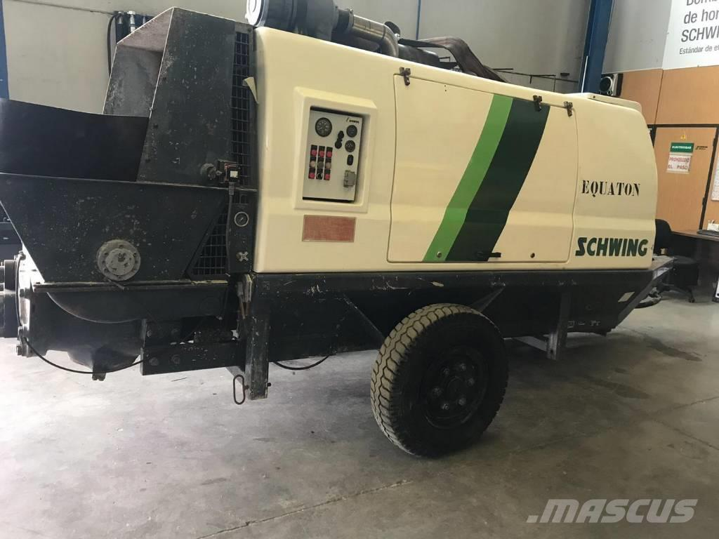 Schwing SP 1800 Stationary concrete pump