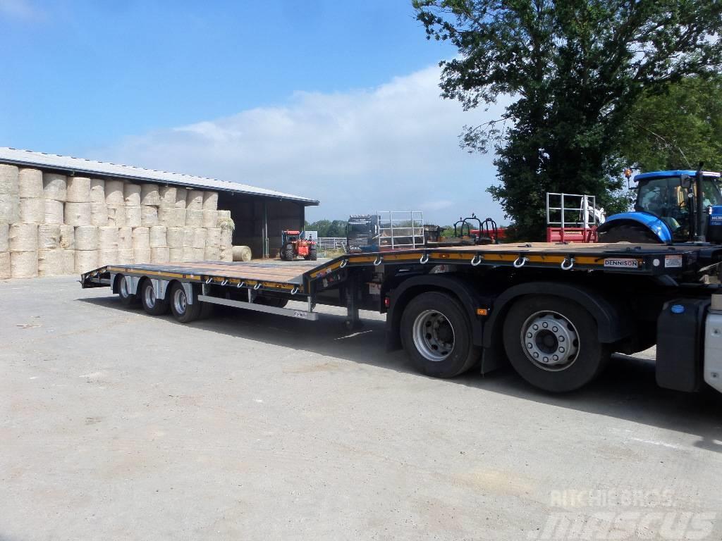 Dennison -tri-axle-drop-frame-trailer, Preis: 28.991 €, Baujahr ...