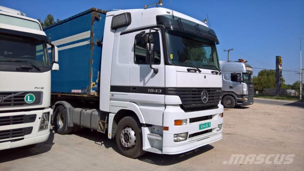 used mercedes benz actros 1843 megaspace tractor units year 2001 price 16 910 for sale. Black Bedroom Furniture Sets. Home Design Ideas
