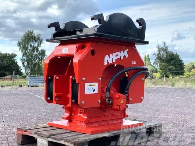 NPK C6 | Trilblok | Verdichter | Compactor | CW40