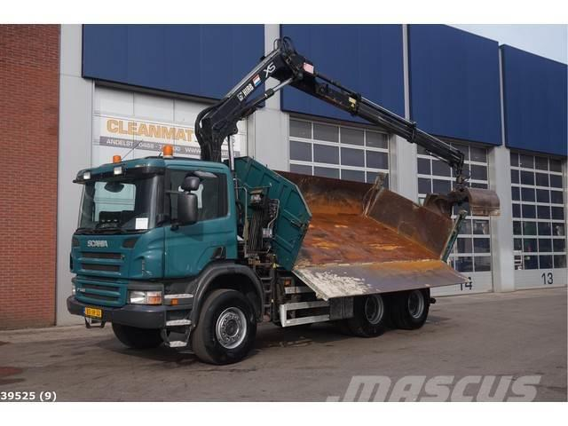Scania P 340 6x6 Hiab 12 ton/meter laadkraan